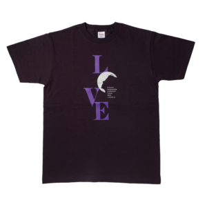 2017ツアーTシャツ(ディープパープル)