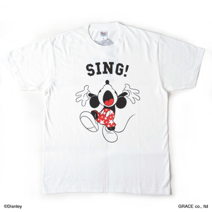 SING!Tシャツ(ホワイト)